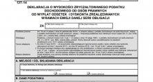 Nowy formularz CIT-14