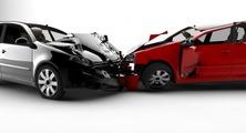 Wypadek drogowy samochodem służbowym